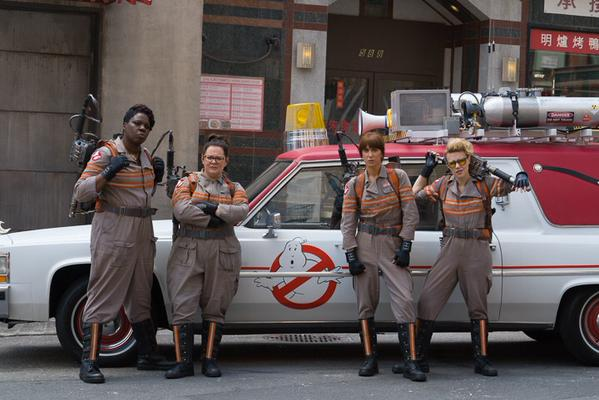 Get To Know Your Ghostbusters With Four New Character Posters