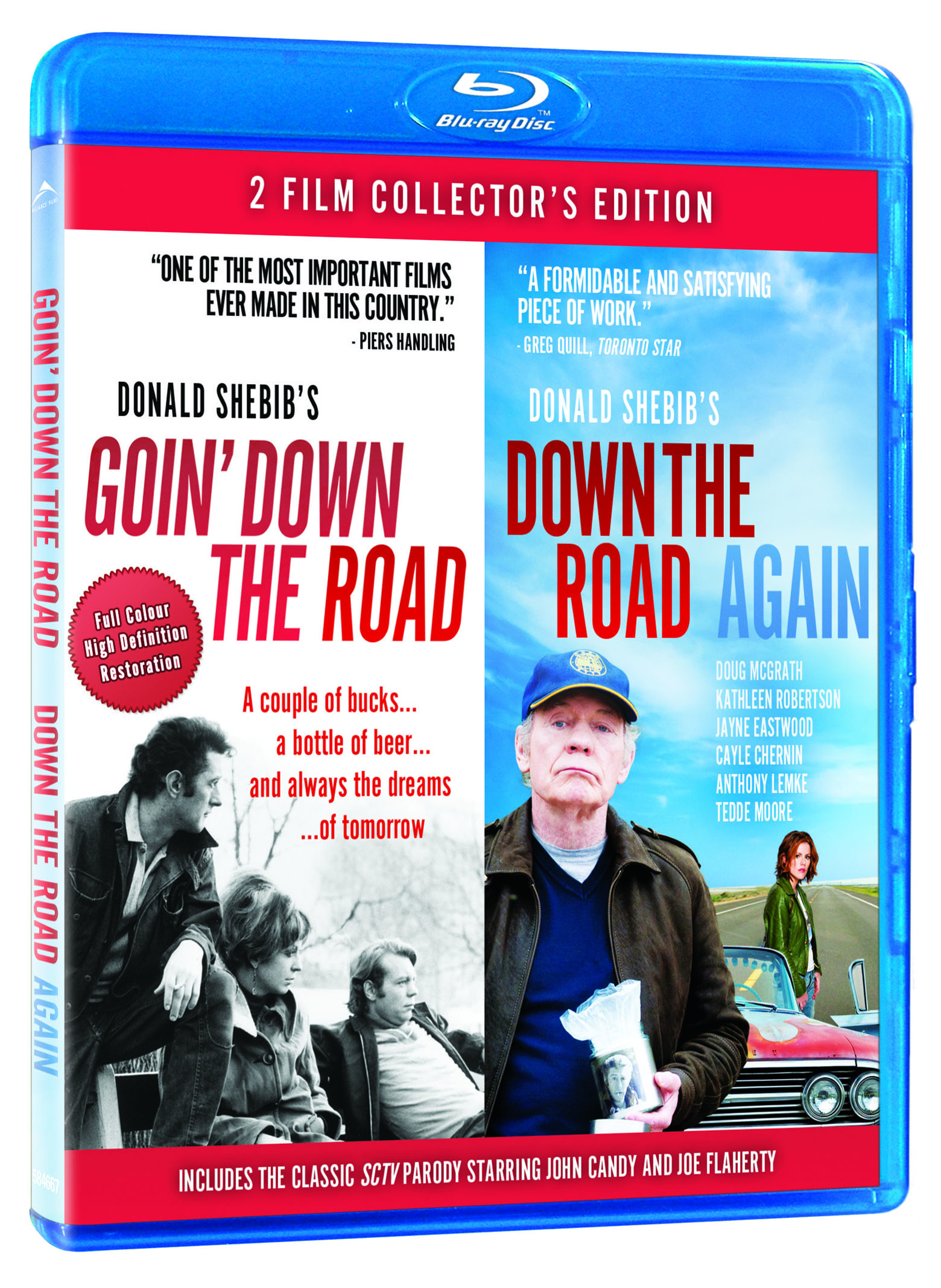 Goin' Down The Road/Down The Road Again Announced For Blu-Ray In July