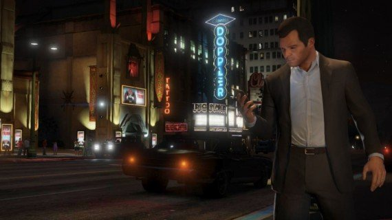 Grand Theft Auto 5 Michael Doppler 570x320 10 Questions/Observations About Grand Theft Auto V From A Non Gamer