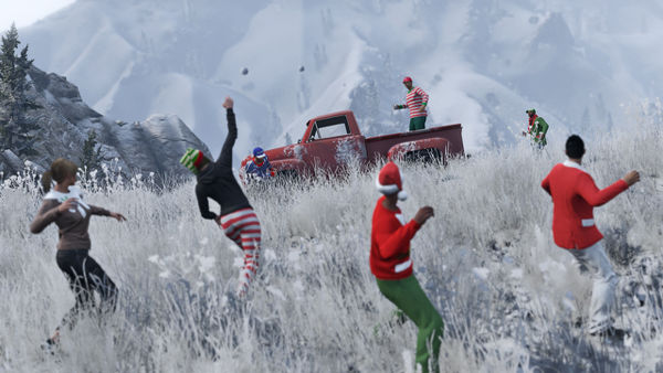 Grand Theft Auto V Gets Christmas Update