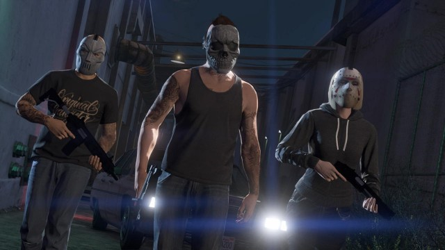 Grand Theft Auto V Will Get Online Heists After First Update For PS4 And Xbox One