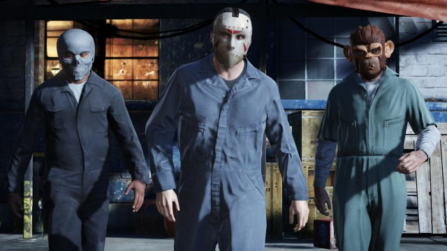 Grand Theft Auto V masks 640x360 10 Questions/Observations About Grand Theft Auto V From A Non Gamer