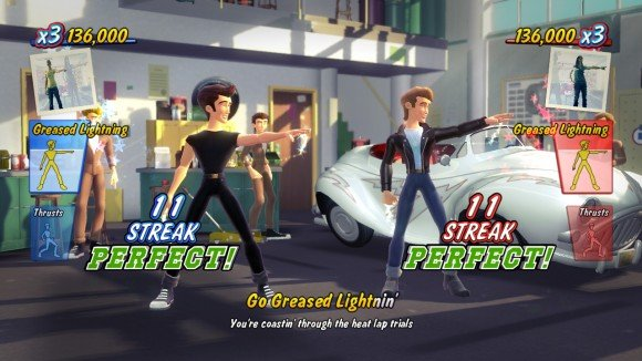 Grease Will Bring Song Plus Dance To Move And Kinect