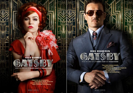 Isla Fisher and Joel Edgerton in The Great Gatsby