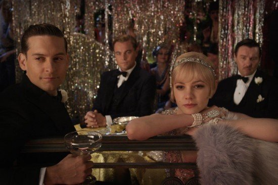 Great Gatsby Official Tobey Maguire Carey Mulligan 550x366 Most Anticipated Films Of 2012