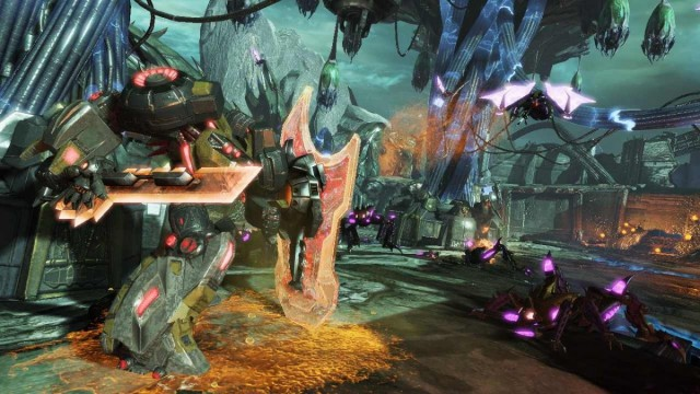 Grimlock Tears His Way Through Transformers: Fall Of Cybertron