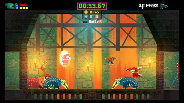 Guacamelee El Diablos Domain DLC 8 640x360 Guacamelee Gold Edition Review