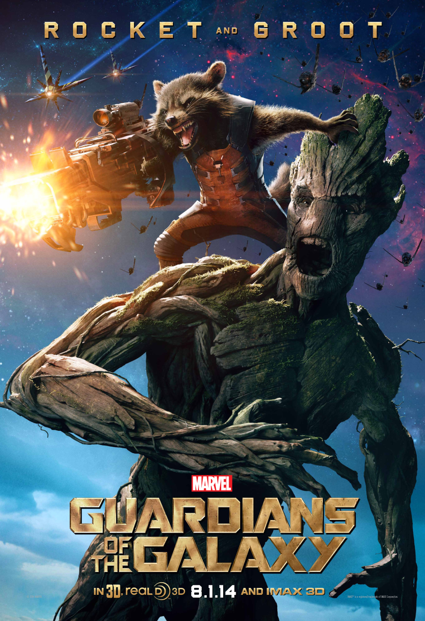 Check Out New Character Poster For Guardians Of The Galaxy