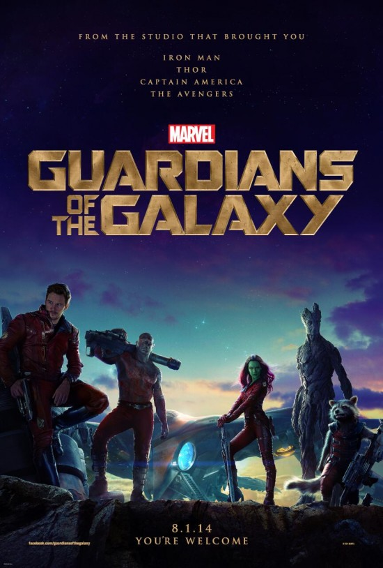 First Poster For Marvel's Guardians Of The Galaxy, Plus New Featurettes
