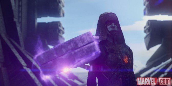 New Guardians Of The Galaxy Pics Include Ronan The Accuser And The Planet Knowhere