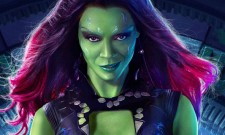 Behind-The-Scenes Image For Guardians Of The Galaxy Vol. 2 Features Zoe Saldana As Gamora
