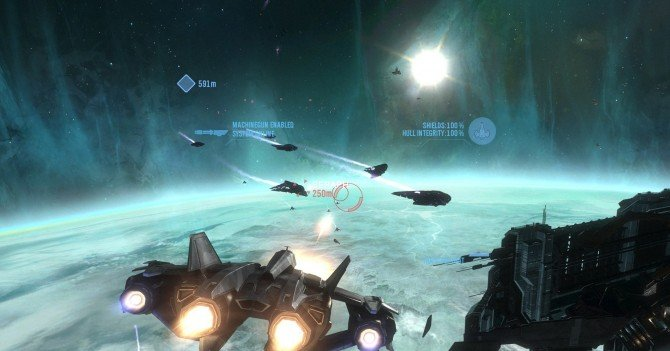 Halo Reach space mission