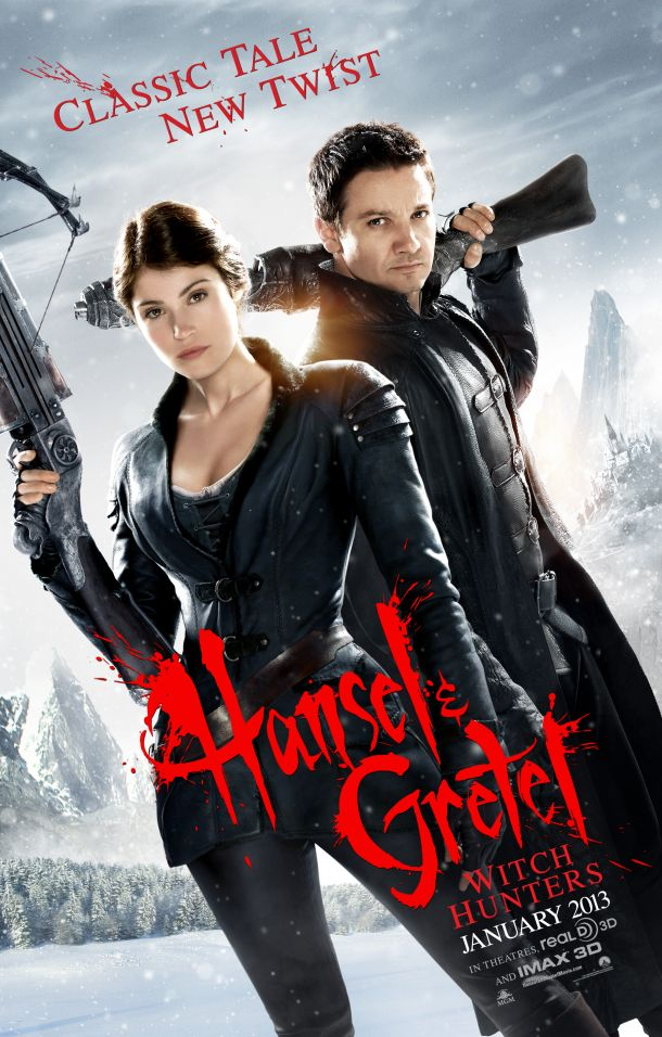 New Red-Band Trailer And Poster For Hansel & Gretel: Witch Hunters