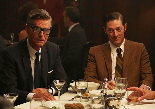 Harry Hamlin and Kevin Rahm in Mad Men