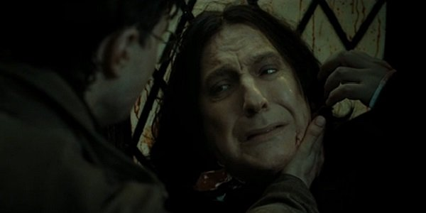 Harry Potter and the Deathly Hallows Part 2 Snape 10 Movie Heroes Who Arent Exactly Good People