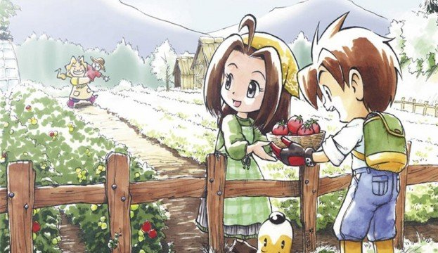 New Harvest Moon Game Coming To 3DS This February