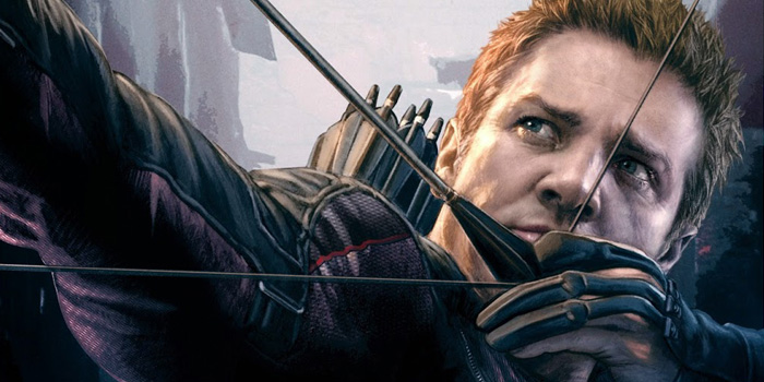 Hawkeye-Jeremy-Renner-Avengers-2-Age-of-Ultron-Art-Poster