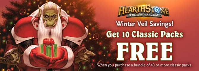 Hearthstone Winter Veil Specials Teased As Christmas Approaches