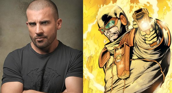 Dominic Purcell Joins The Flash As Supervillain Heat Wave