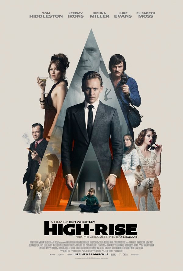 Intricate New Poster For Ben Wheatley's High-Rise Teases A Psychedelic Trip