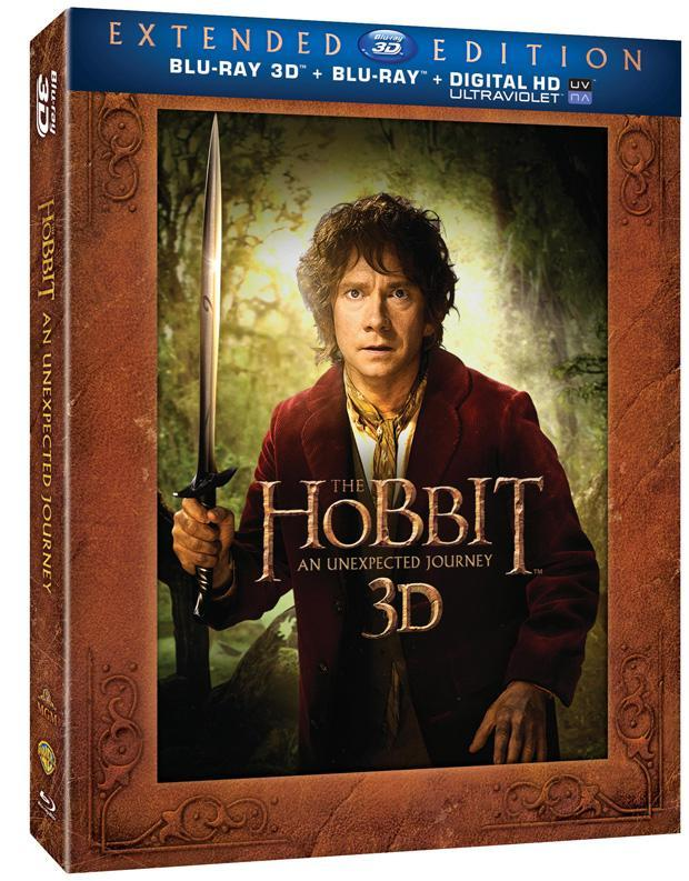 The Hobbit: An Unexpected Journey Extended Edition Blu-Ray Announced