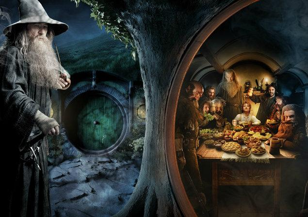 New Banner For The Hobbit: An Unexpected Journey Displays Its Epicness