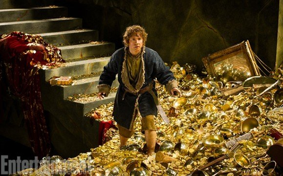 New Stills From The Hobbit: The Desolation Of Smaug Show Off Bilbo And The Gang