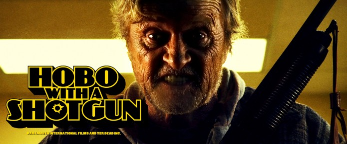 Hobo With A Shotgun Hits Blu-Ray On July 5th