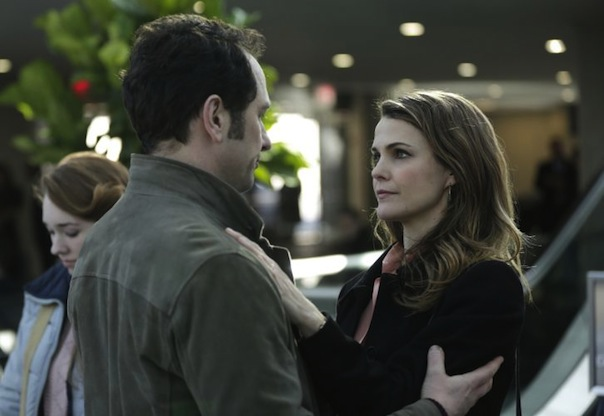 Holly Taylor, Matthew Rhys and Keri Russell in The Americans