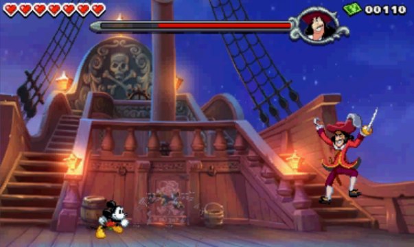 Hook3 603x360 Disney Epic Mickey: Power Of Illusion Review