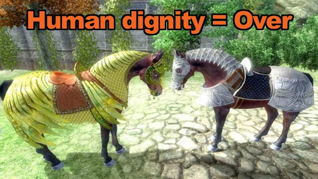 Horse armour header article image 10 Ways That Gaming Is Destroying Your Life