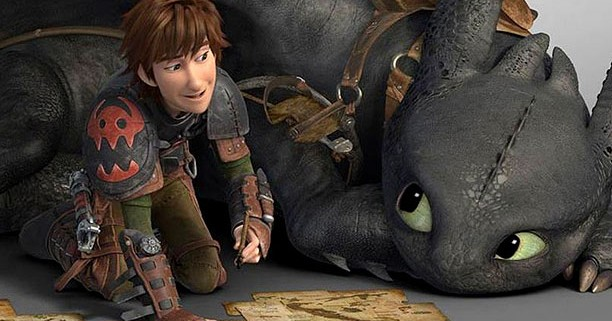 how to train your dragon 2 end credits
