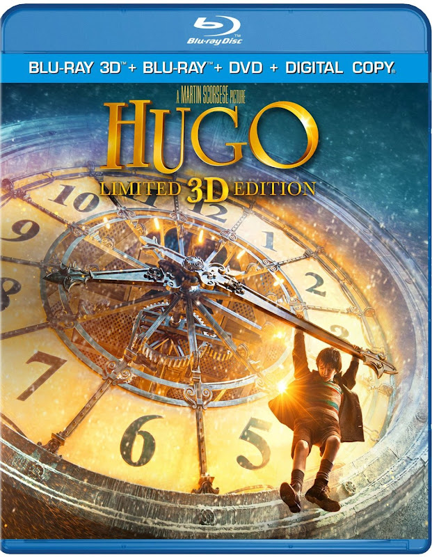 Martin Scorsese's Hugo Coming To Blu-Ray 3D Later This Month