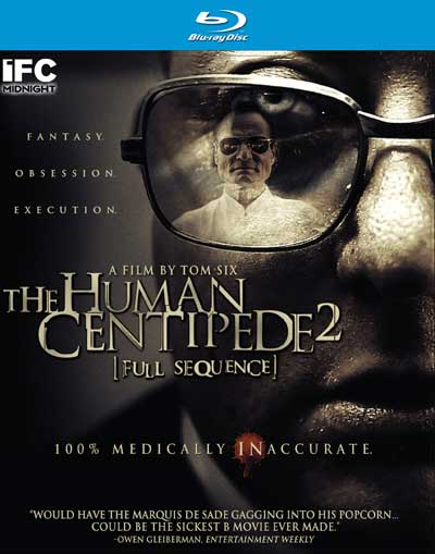 The Human Centipede 2 [Full Sequence] Blu-Ray Review