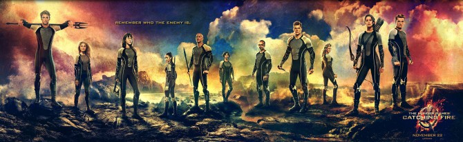 Hunger Games Catching Fire Victors Banners 670x206 Lionsgate Releases Victors Banner For The Hunger Games: Catching Fire
