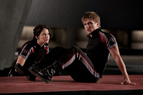 Peeta And Katniss Train In New Photo From The Hunger Games