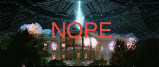 Fox Have Cancelled Independence Day 3D