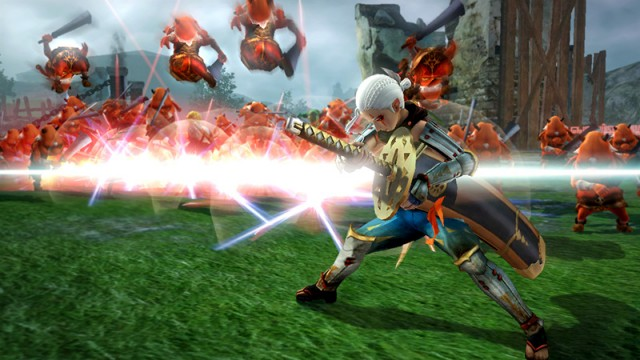 Impa Shows Off Her Massive Sword In New Hyrule Warriors Trailer