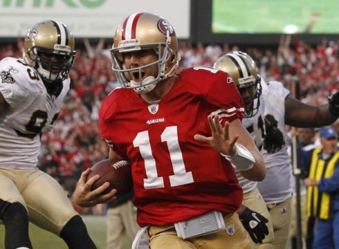 Inside slant New Captain Comeback in SF O1RKITH x large 49ers QB Alex Smith Has Finally Shed The Bust Label