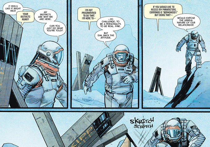 Christopher Nolan Unveils Prequel Comic For Interstellar That Fills In Background Story