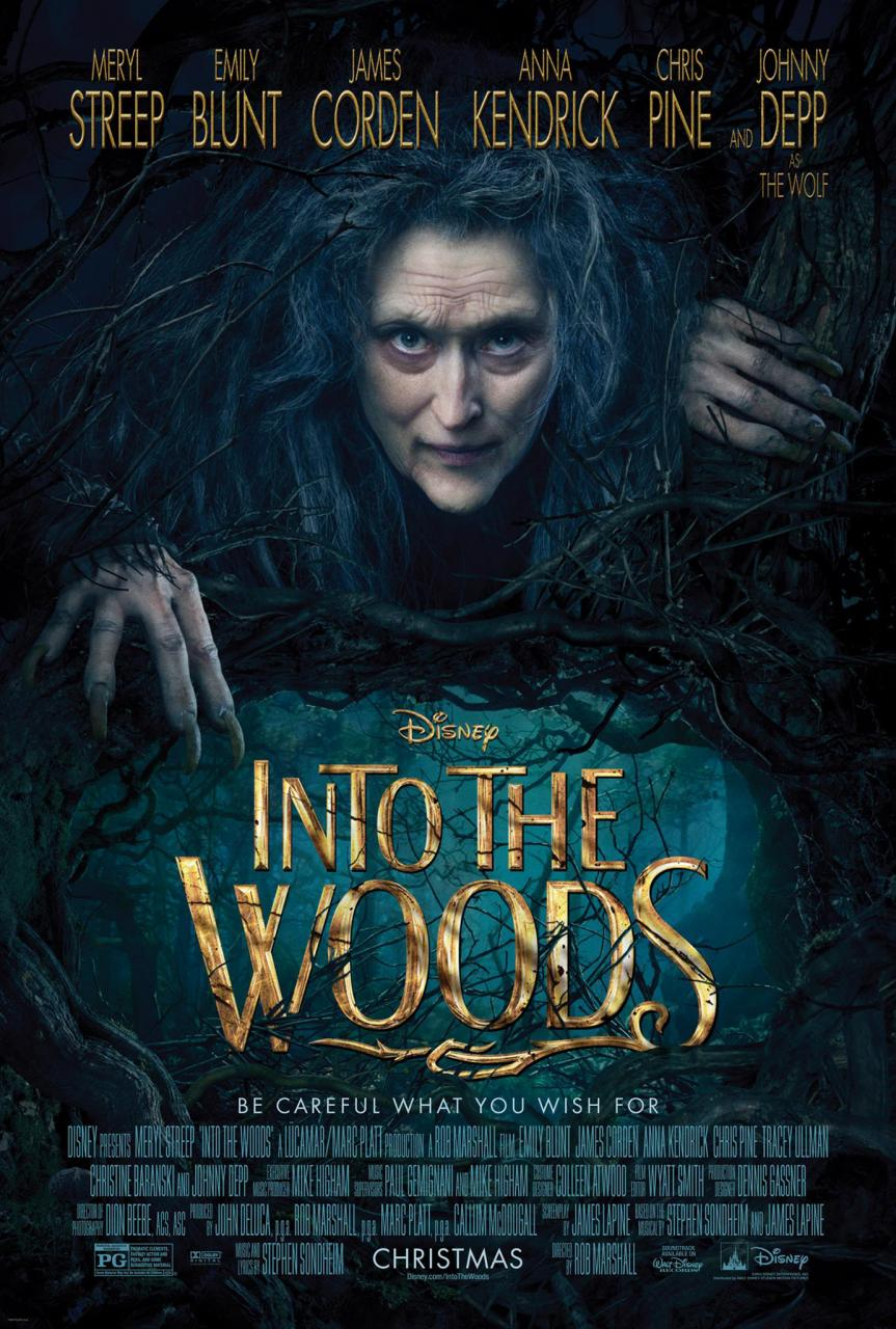 Meryl Streep Is A Creepy Witch In Maiden Poster For Disney's Into The Woods
