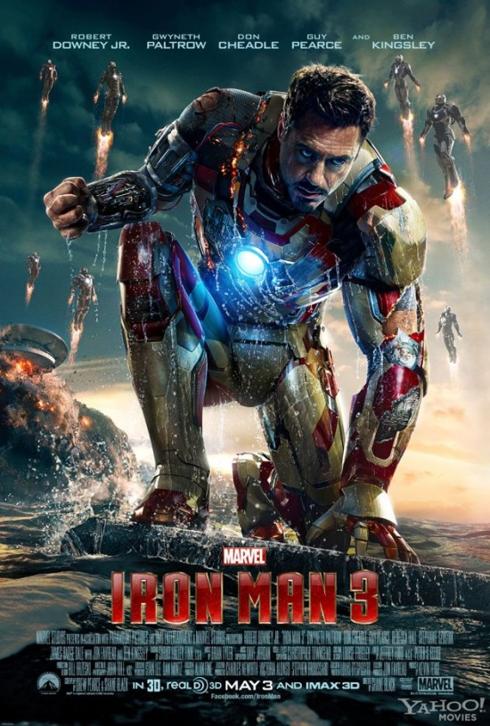 New Iron Man 3 Poster, Next Trailer Arrives March 5th