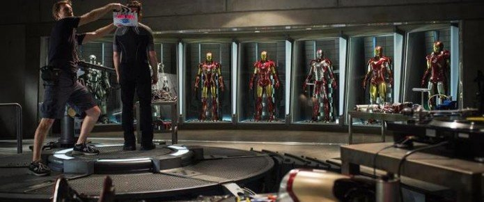 First Iron Man 3 Set Picture Released
