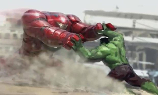 The Hulk And Iron Man Throwdown In Preview Footage For Avengers: Age of Ultron