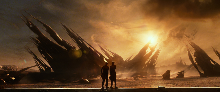 Is this an alien planet or Earth 7 Reasons To Be Excited For Enders Game