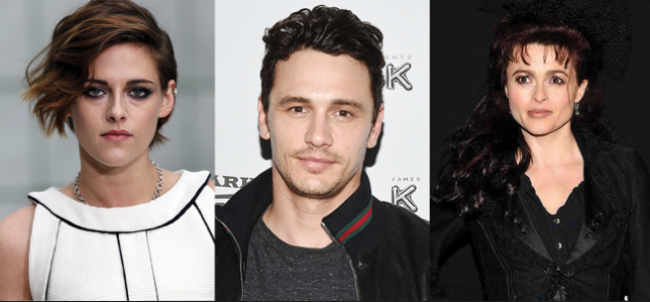 JT LeRoy Biopic Casts Kristen Stewart, James Franco And Helena Bonham Carter