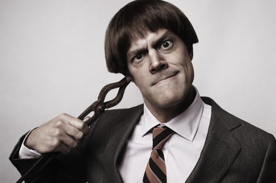 Johnny Knoxville Joins The Three Stooges