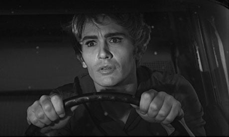 James Franco as Janet Leigh in Psycho.