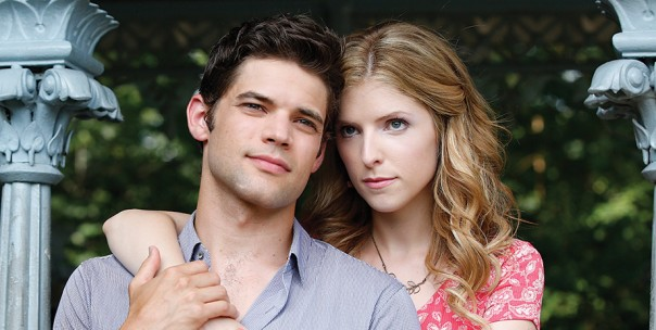 Jeremy Jordan and Anna Kendrick in The Last 5 Years