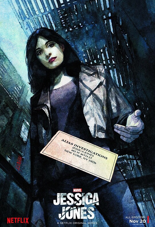 Alex Maleev Illustrates Awesome New Poster For Marvel's Jessica Jones